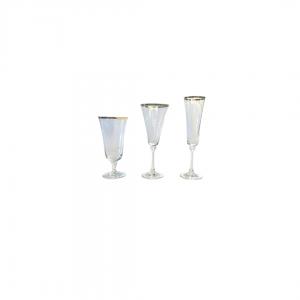 Bella Gold Line Crystal Glassware