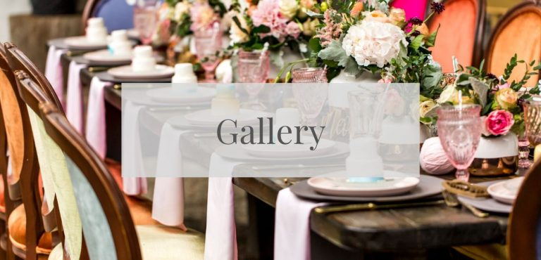 gallery of our event rentals