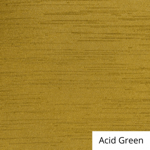 Acid Green Silk Satin Linen
