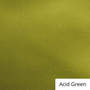 Acid Green Satin Linen