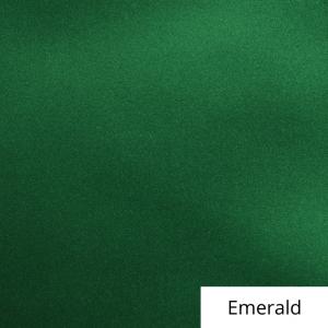 Emerald Satin Linen