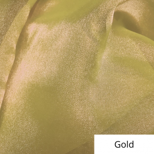 Gold Organza Linen Rental