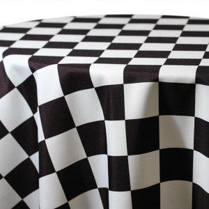 speedway print linen