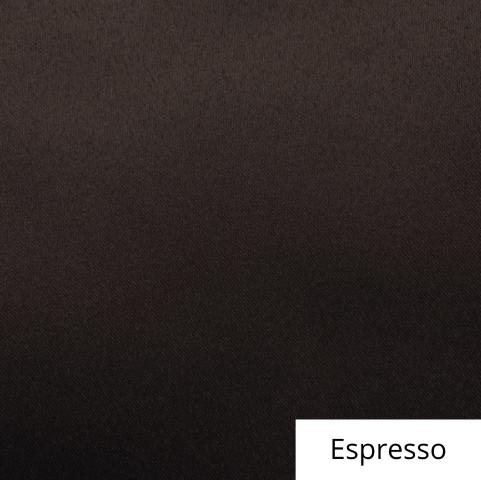 Espresso Satin Linen