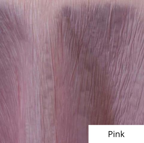 Pink Organza Linen