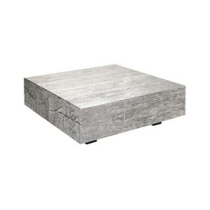 silver timber coffee table