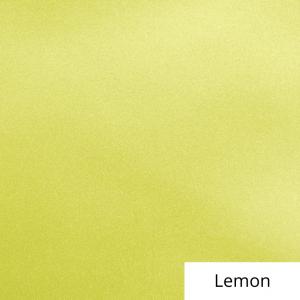 Lemon Satin Linen