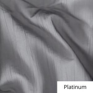 Platinum Organza Linen