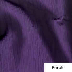 Purple Organza Linen