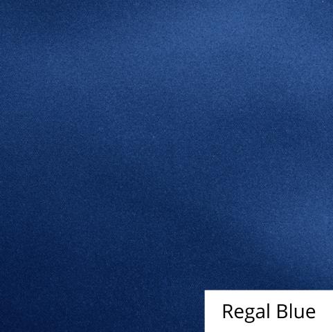 Regal Blue Satin Linen