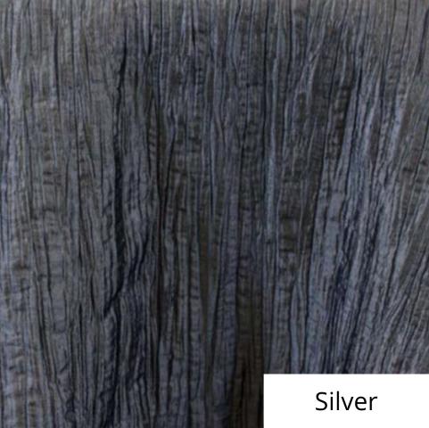 Silver Organza Linen