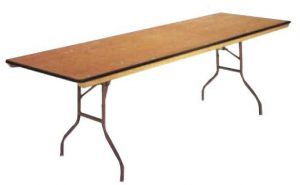 8ft banquet table