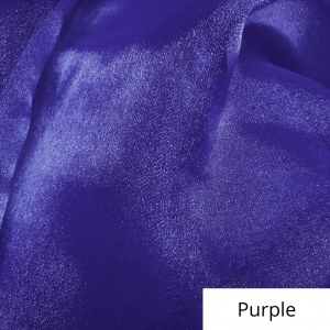 Purple Organza Linen Rental