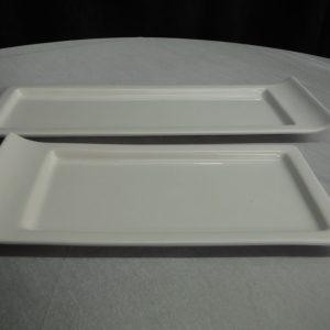 rectangle sleigh tray
