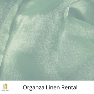 Organza Linen Rental
