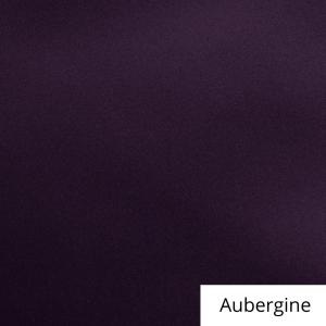 Aubergine Satin Linen