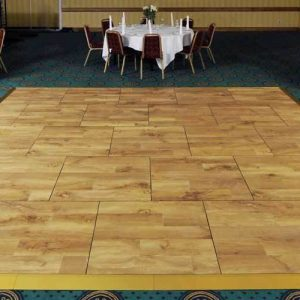 oak wood dance floor