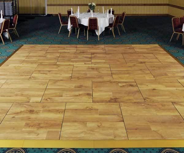 oak wood dance floor