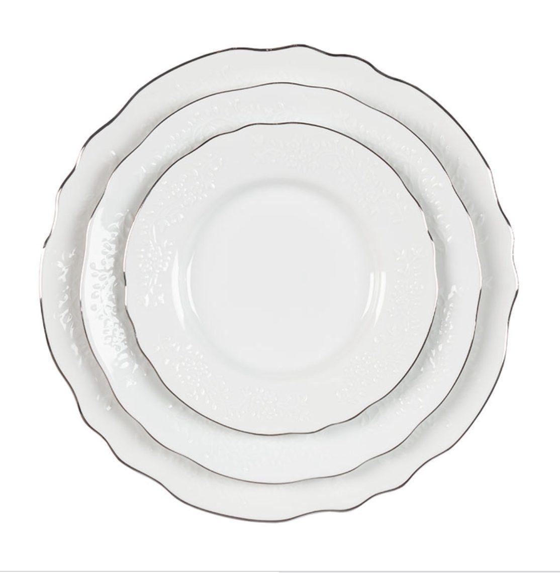 vine silver china