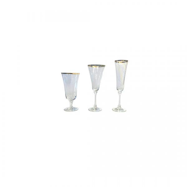 Gold Line Bella Glass Collection