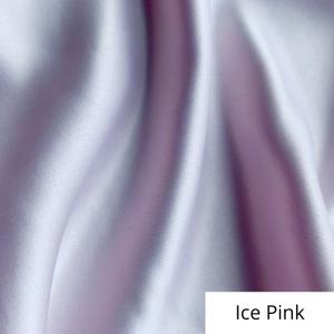 Ice Pink Satin Linen