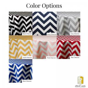Chevron Linen Color Options