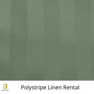 Polystripe Linen Rental