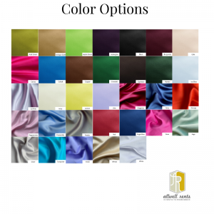 Satin Color Options