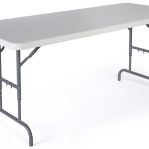 adjustable height banquet table