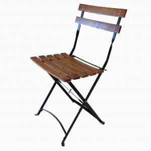 bistro wood chair