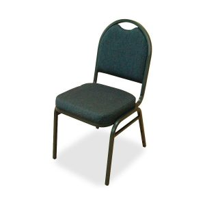 black hotel stacking chair