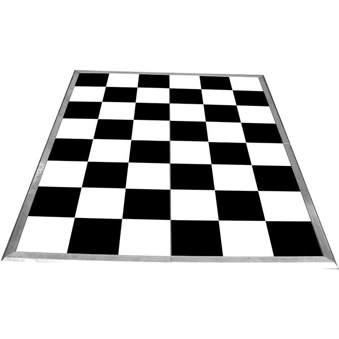 checkerboard dance floor