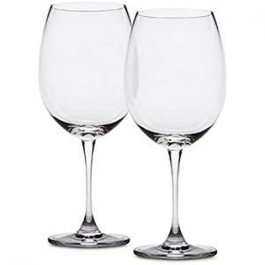 crystal cab wine glass