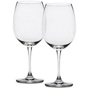 crystal cab wine glass