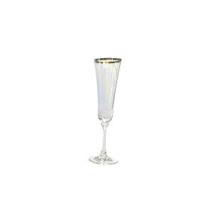 Gold Line Bella Crystal Champagne Flute