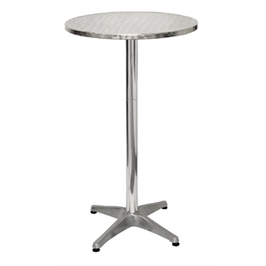 silver swirl cocktail table
