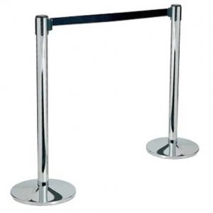 stanchion with tensa