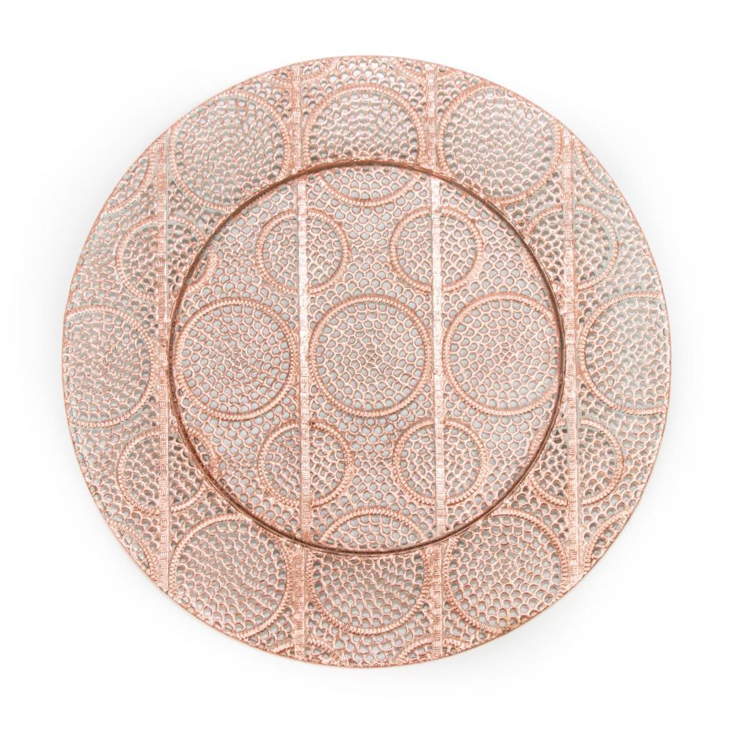 copper lattice charger