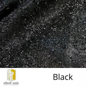 Black Twinkle Tinsel