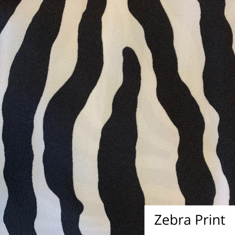 Zebra Print Linen