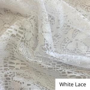 White Lace Linen