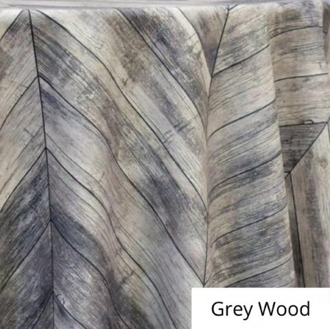 Grey Wood Linen