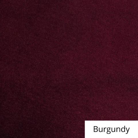Burgundy spandex