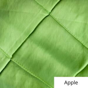 apple wide pintuck linen