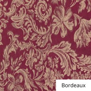 Bordeaux Miranda Damask Linen
