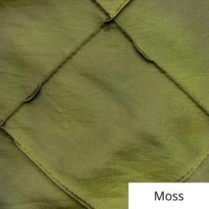 moss wide pintuck linen