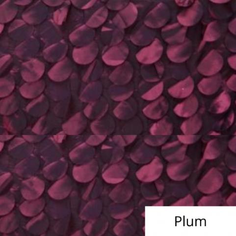 Plum whimsy linen