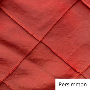 persimmon wide pintuck linen