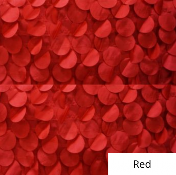 Red whimsy linen