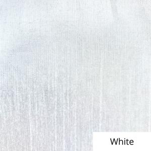 White Silk Linen